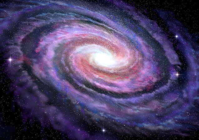 Recém descoberta zona da Via Láctea chamada pelos cientistas de esporão de Cepheus
