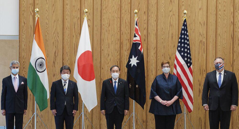 Países-membros do Quad (foto de arquivo)