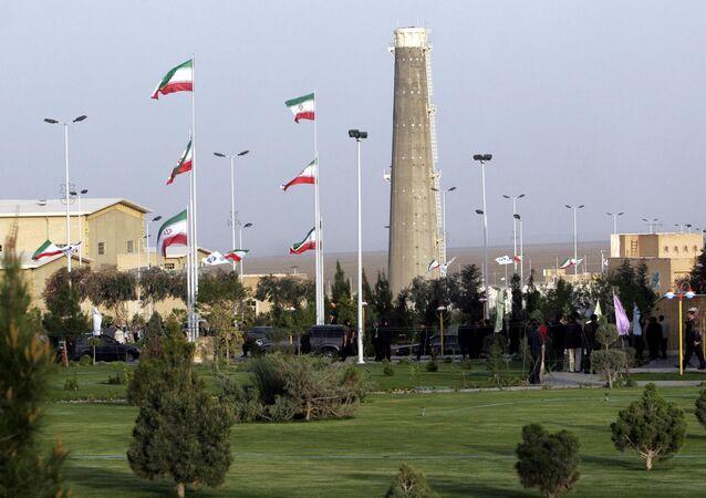 Instalações nucleares de Natanz situadas ao sul de Teerã