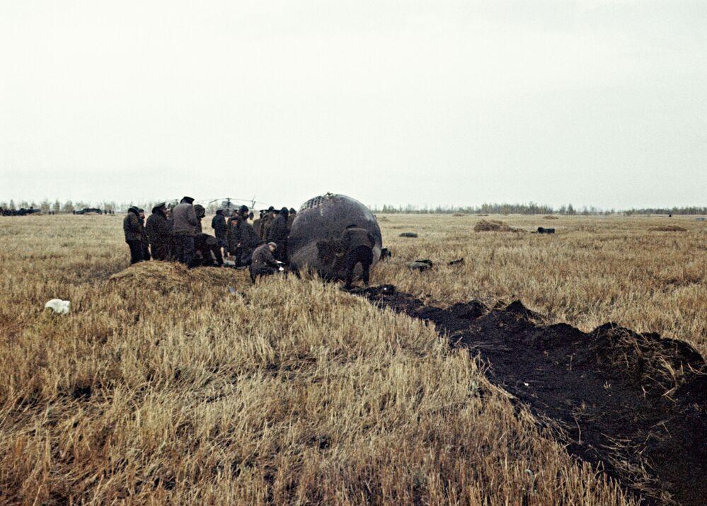 Local de pouso da espaçonave Vostok-1, 1961