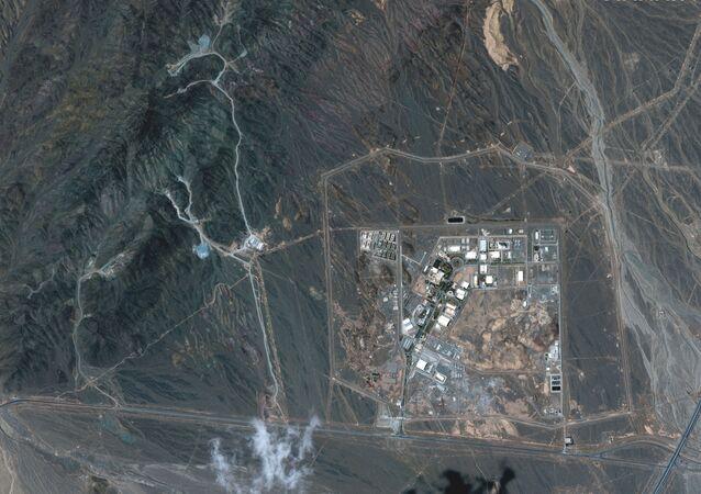 Instalação de enriquecimento de urânio de Natanz, a 250 quilômetros ao sul da capital iraniana Teerã, 12 de abril de 2021