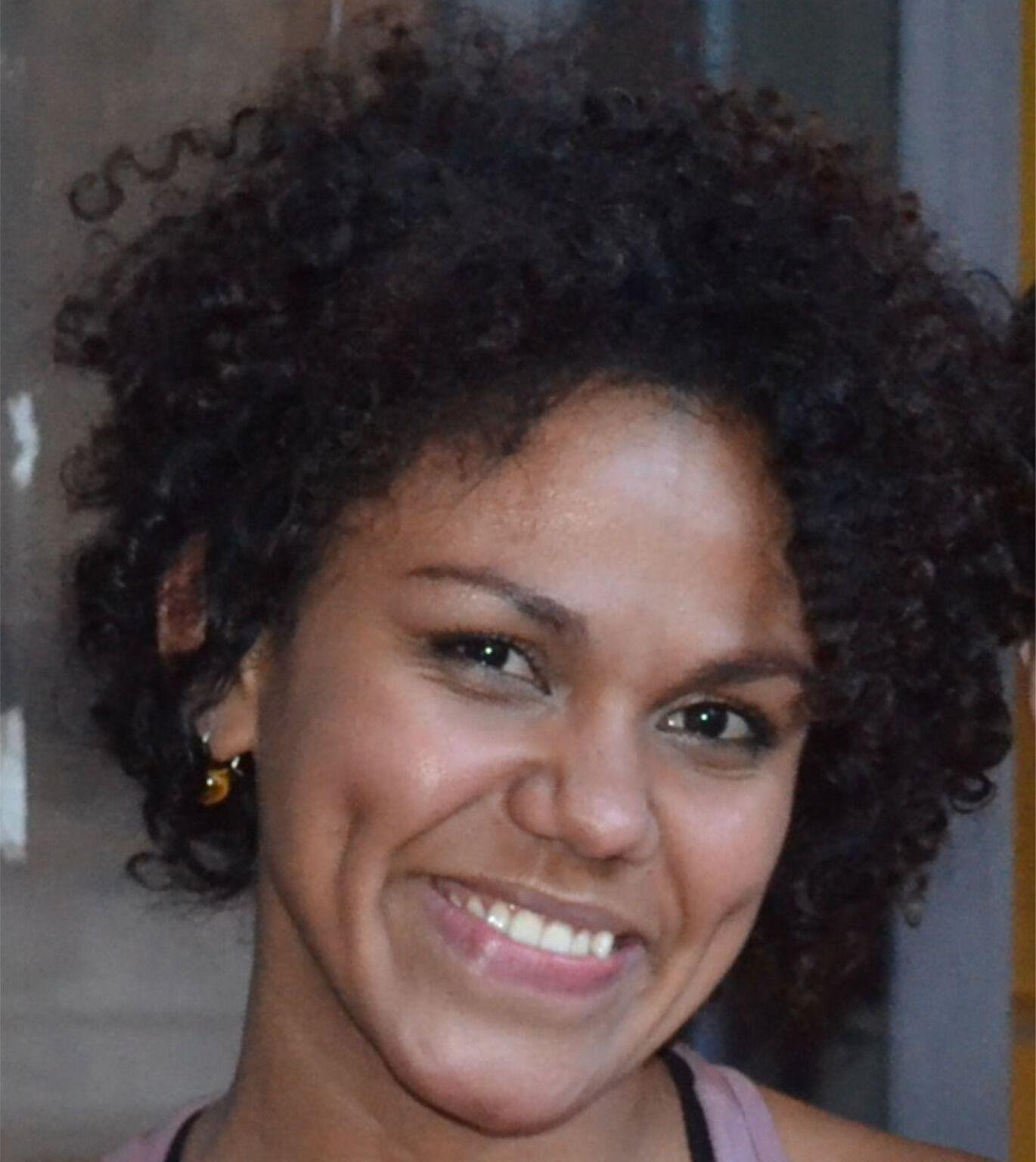 A brasileira Danielle Pereira de Araújo, doutora em Ciência Política pela Unicamp e investigadora na Universidade de Coimbra