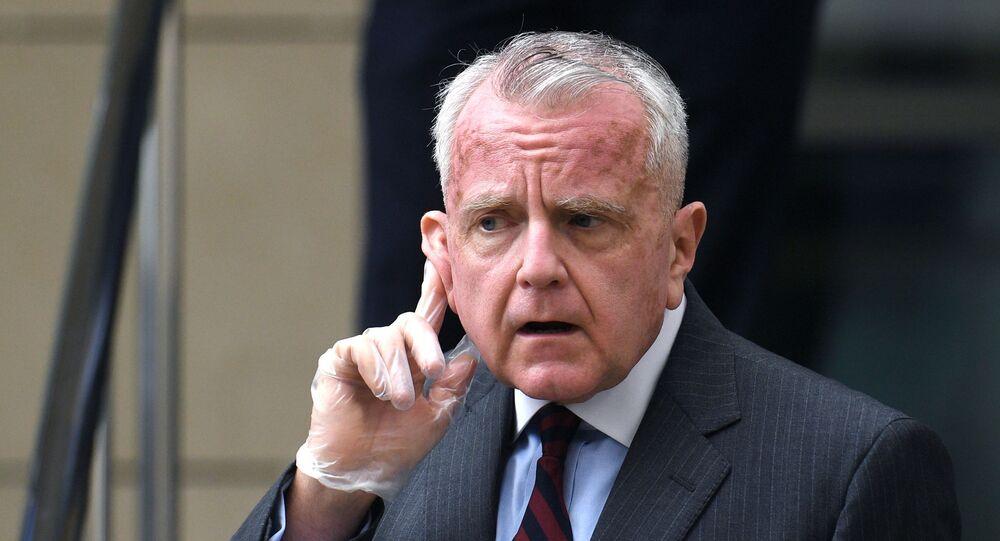 O embaixador dos EUA, John Sullivan