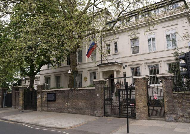 Embaixada russa no Reino Unido.