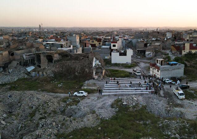 Norte da cidade de Mossul, Iraque, 15 de abril de 2021