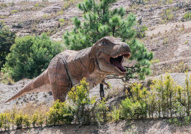 Tiranossauro (imagem referencial)
