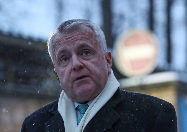 Embaixador dos EUA na Rússia, John Sullivan, no dia 30 de janeiro de 2020
