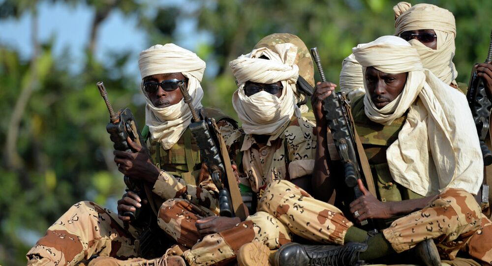 Soldados do Chade