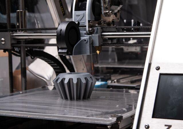 Impressora 3D (imagem referencial)
