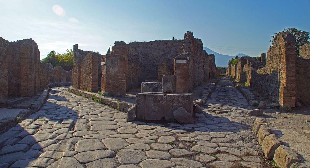Rua romana (imagem referencial)