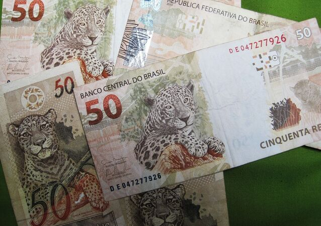 Foto ilustrativa de notas de R$ 50