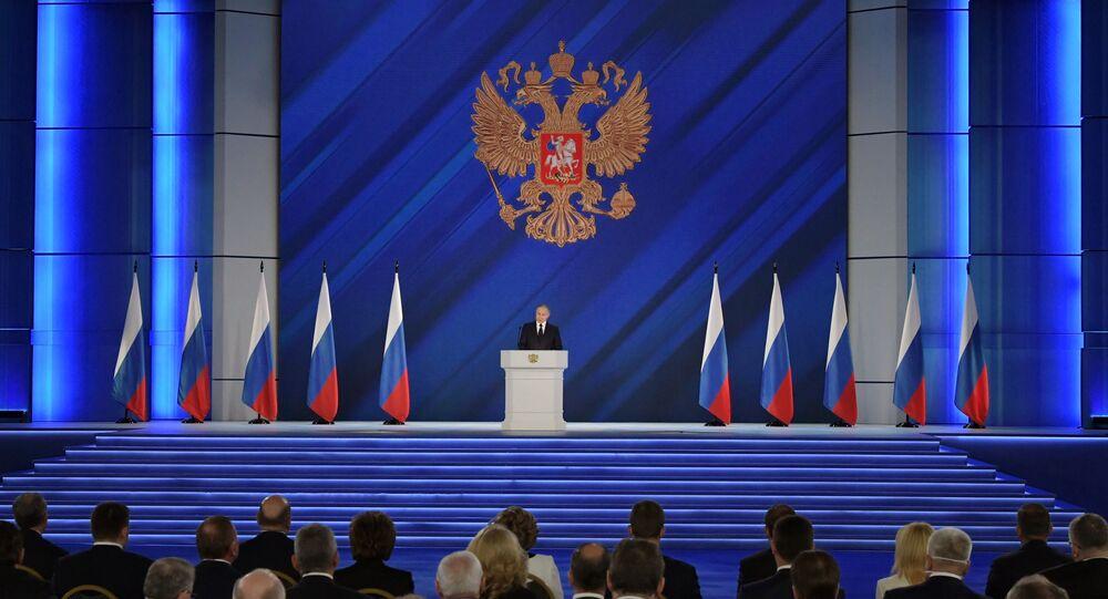 Discurso anual do presidente da Rússia, Vladimir Putin, perante a Assembleia Federal, 21 de abril de 2021