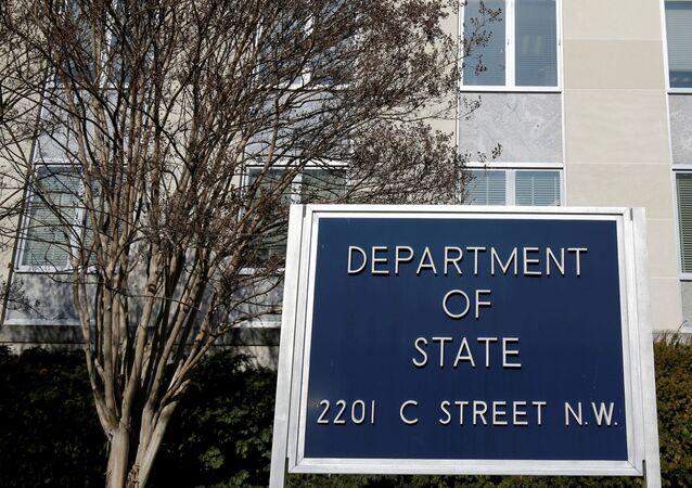 Prédio do Departamento de Estados dos EUA, em Washington.