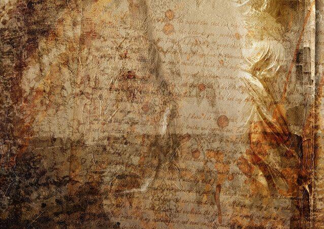 Manuscrito (imagem referencial)