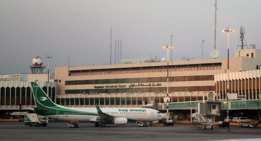 Aeroporto Internacional de Bagdá, no Iraque