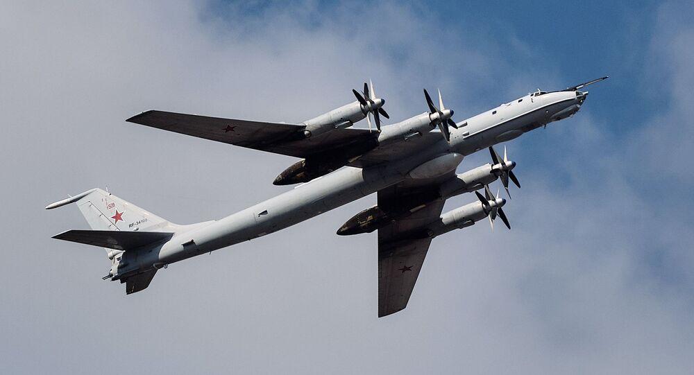 Bombardeiro antissubmarino russo Tu-142