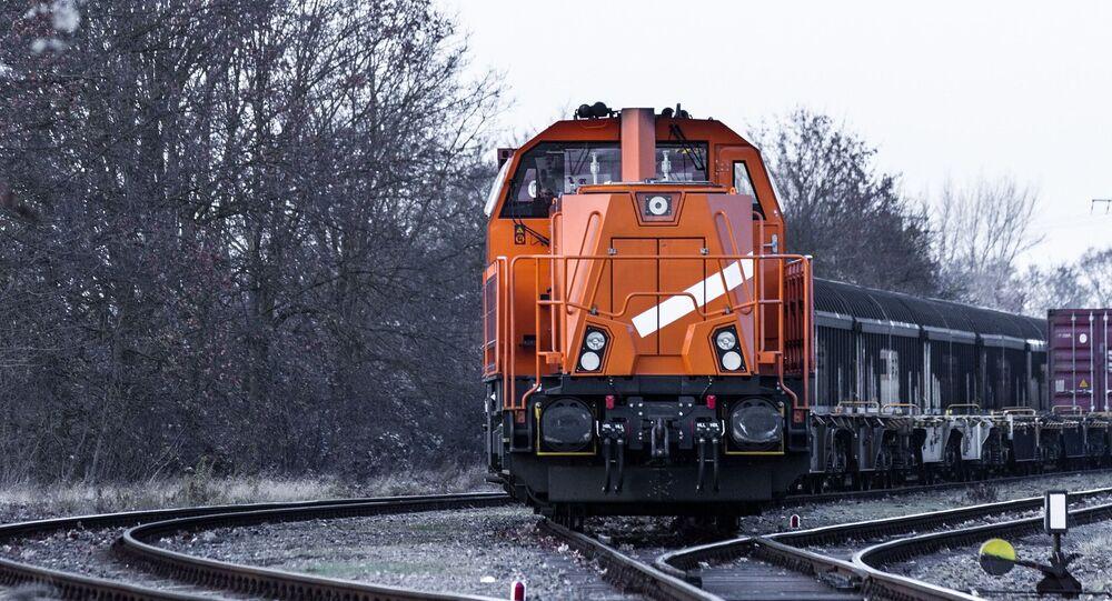 Trem de carga (imagem referencial)