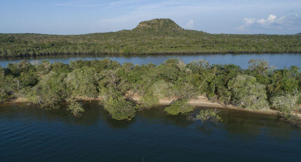 A Floresta Amazônica em Alter do Chão, no Pará, em foto de 27 de agosto de 2020