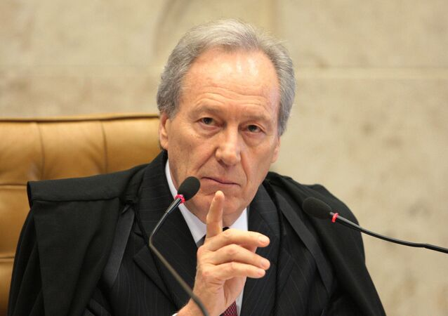 Ministro Ricardo Lewandowski, do Supremo Tribunal Federal (STF)