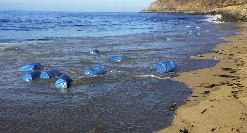 Barris na costa da Califórnia (imagem referencial)