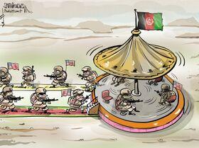 Roda roda no afeganistão