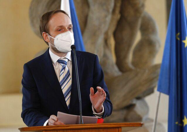 Ministro das Relações Exteriores da República Tcheca, Jakub Kulhanek