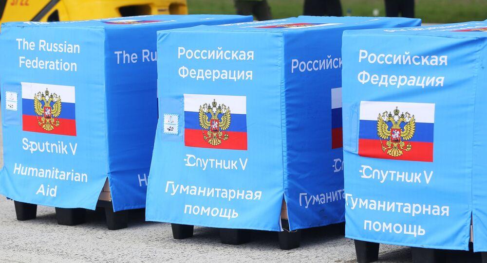 Lote de vacinas russas da Sputnik V chega à Moldávia