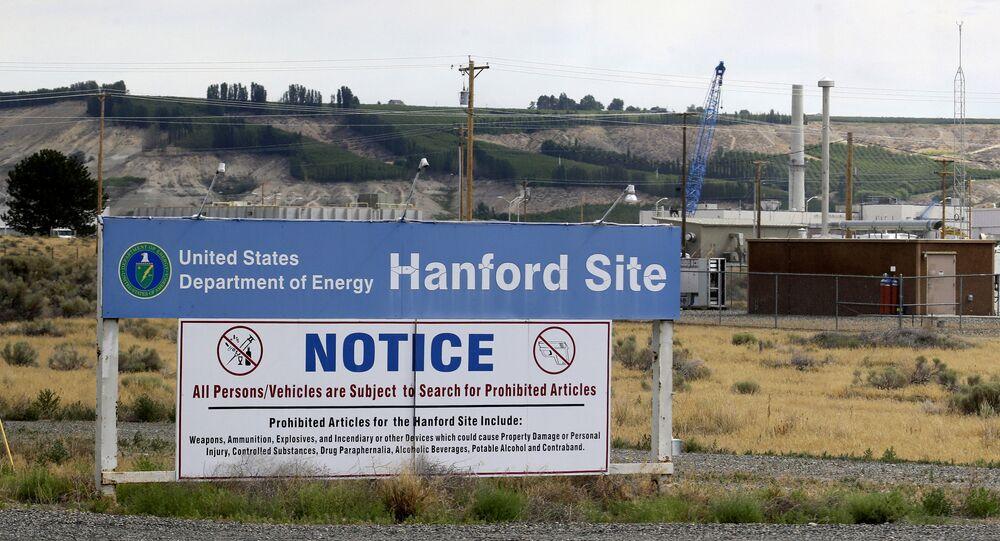 O reservatório de resíduos nucleares de Hanford, em Washington, nos Estados Unidos