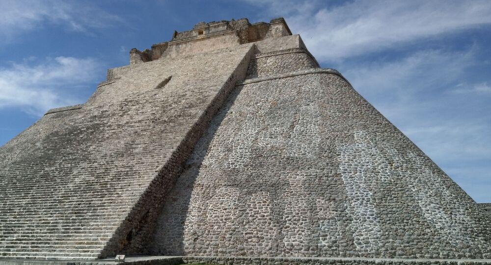 Pirâmide maia (imagem referencial)