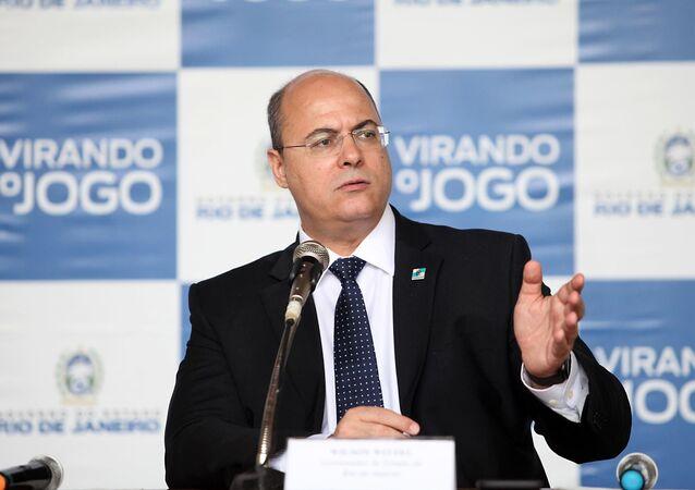 Wilson Witzel, ex-governador do estado do Rio de Janeiro, afastado em definitivo do cargo nesta sexta-feira, 30 de abril de 2021 (imagem de arquivo)