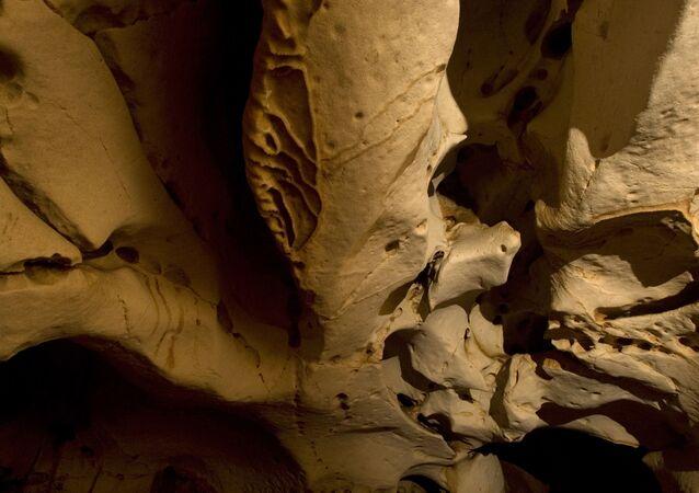 Caverna maia descoberta no México (imagem referencial)