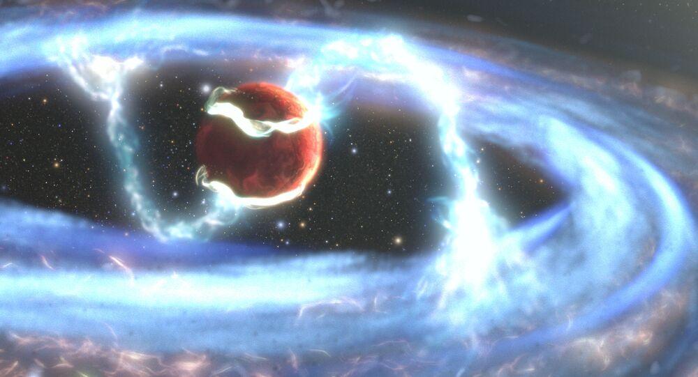 Ilustração do exoplaneta PDS 70b