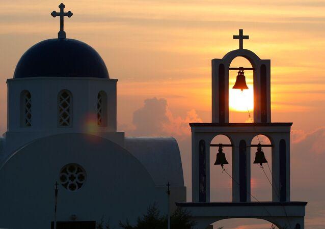 Ilha grega (imagem referencial)