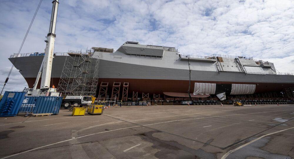 Fragata britânica HMS Glasgow