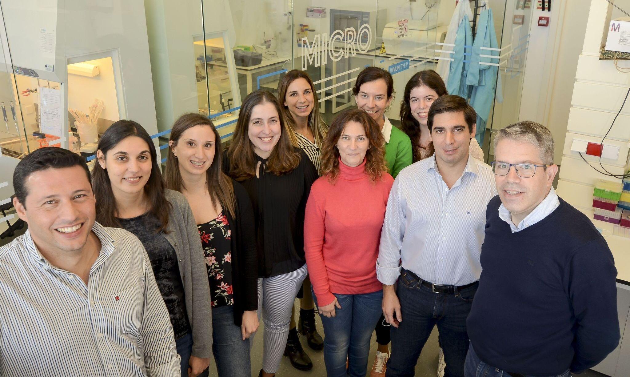 A equipe da Immunethep, que desenvolve vacina por inalação contra COVID-19