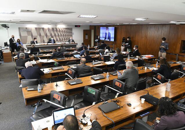 Comissão Parlamentar de Inquérito (CPI) da COVID-19 realiza oitiva do ex-ministro da Saúde Luiz Henrique Mandetta