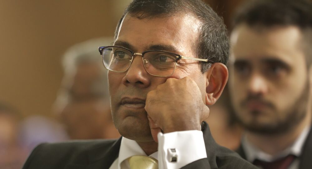 O ex-presidente das Maldivas, Mohamed Nasheed