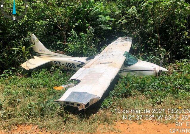Operação Verde Brasil 2, em Roraima, apreendeu dois helicópteros e 14 aviões de pequeno porte, no período de11 de maio de 2020 a 30 de abril de 2021