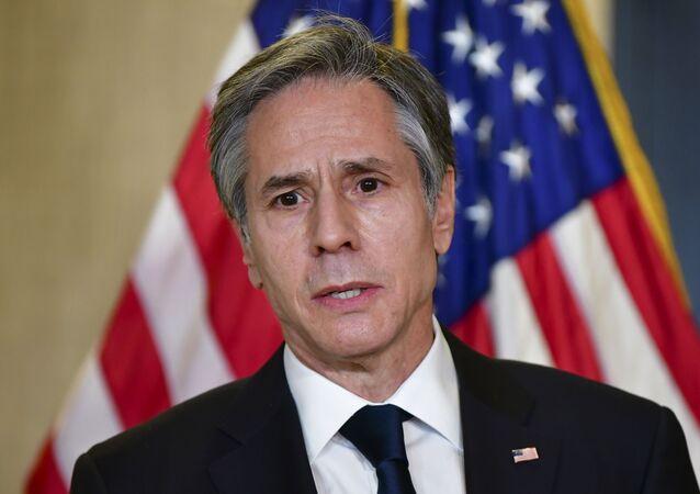 Secretário de Estado dos EUA, Antony Blinken