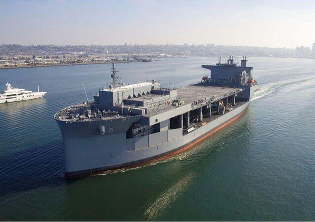 Navio base marítima expedicionária USS Miguel Keith (ESB-5)