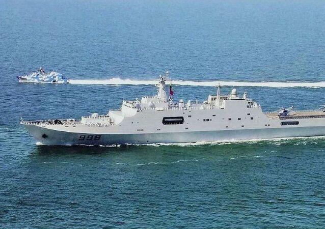Navio de desembarque anfíbio multiuso da classe Type 071 da Marinha da China