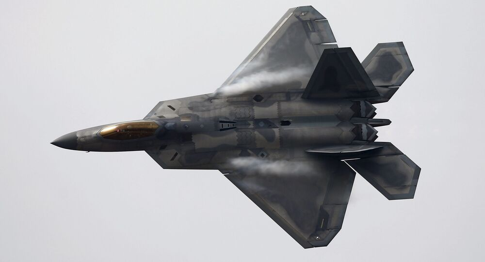 Caça F-22 Raptor dos EUA