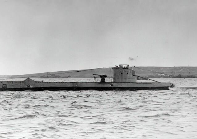 Submarino britânico HMS Urge