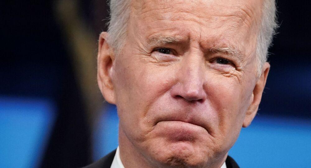 Em Washington, o presidente dos Estados Unidos, Joe Biden, fala sobre esforços contra a COVID-19, em 12 de maio de 2021