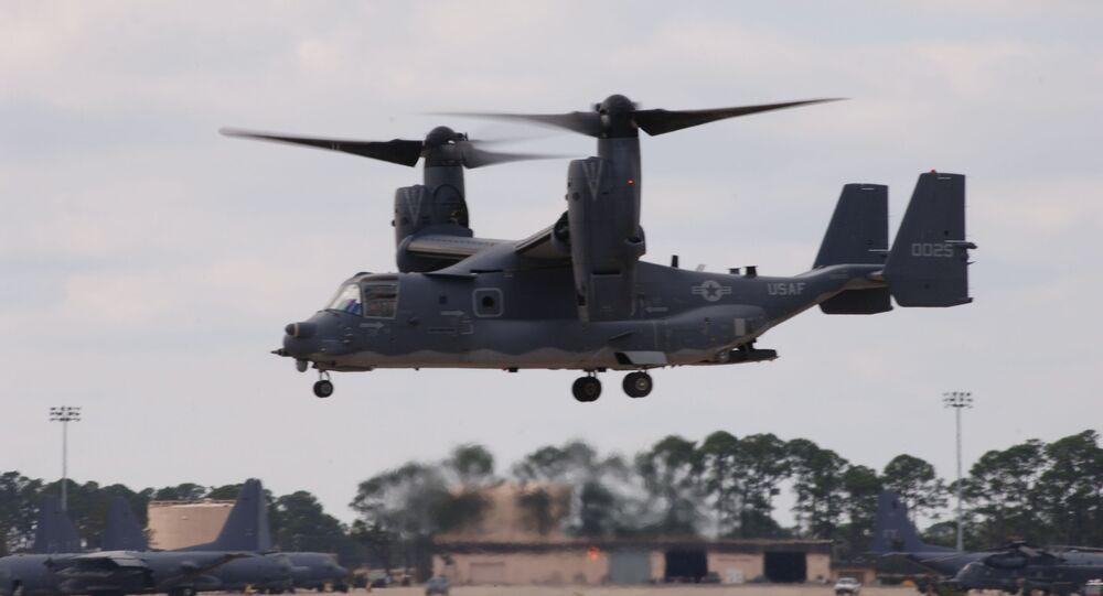 Avião CV-22 Osprey dos EUA