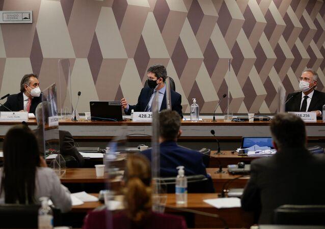 CPI da Covid no Senado recebe em 12 de maio o presidente da Pfizer América Latina e ex-presidente da Pfizer Brasil, Carlos Murillo, em Brasília