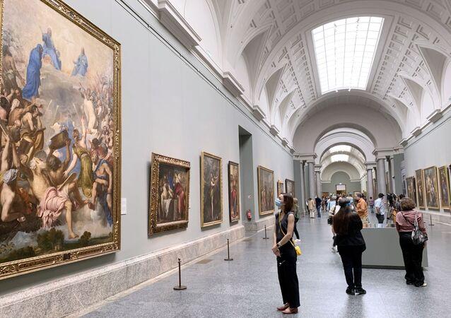 Museu Nacional do Prado, na capital espanhola Madri