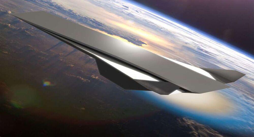 Uma aeronave hipersônica conceitual