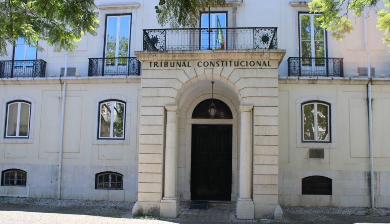 Fachada do Palácio Ratton, sede do Tribunal Constitucional, em Lisboa