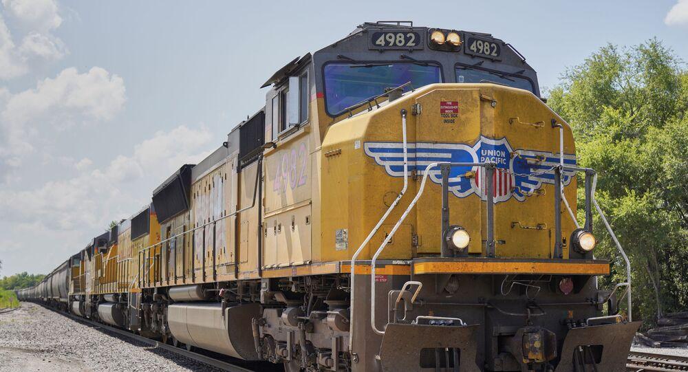Trem de carga da Union Pacific